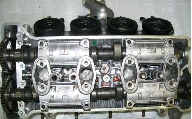 Головка блока цилиндров гбц honda cbr 600